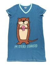 Otterly Exhausted Nightshirt - Koszula Nocna - LazyOne
