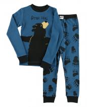 Boys Bear Hug - Piżama Dziecięca Długi rękaw - LazyOne