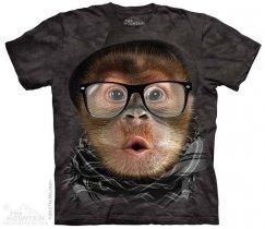 Hipster Orangutan Baby - The Mountain