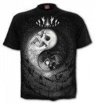 Yin Yang Skulls - Spiral