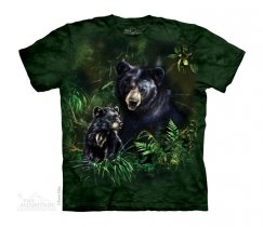 Black Bear and Cub - The Mountain Junior