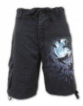 Crow Moon - Krótkie Spodnie Denim Spiral