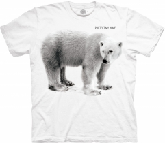 Polar Bear Protect My Home White - The Mountain