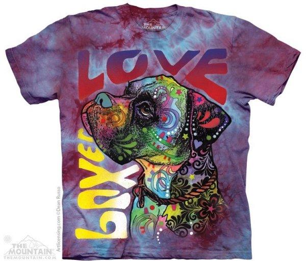 Boxer Luv - T-shirt The Mountain