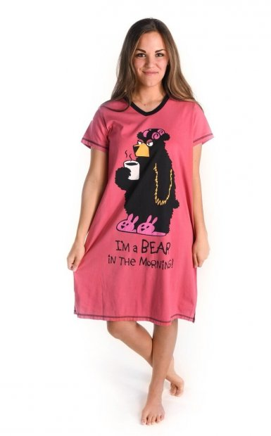 Bear in the Morning Nightshirt - Noční košilka - LazyOne