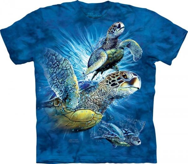 Find 9 Sea Turtles - T-Shirt The Mountain