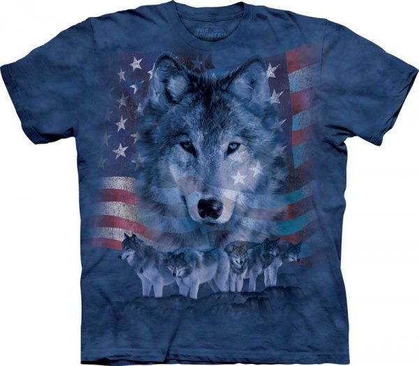 Patriotic Wolfpack - The Mountain