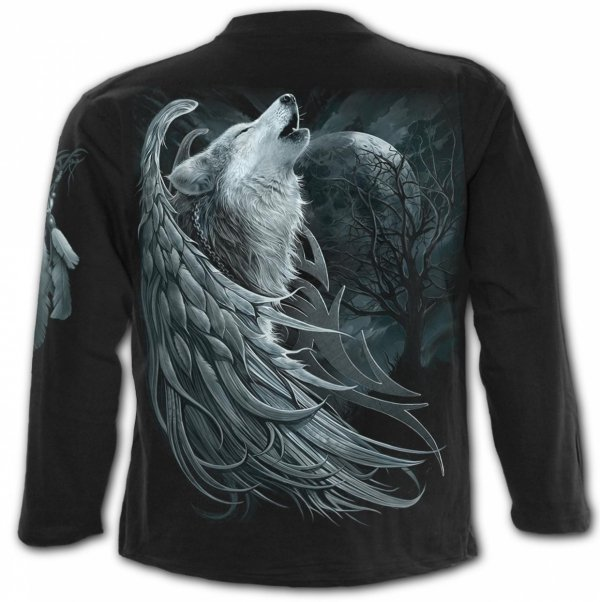 Wolf Spirit - Longsleeve Spiral