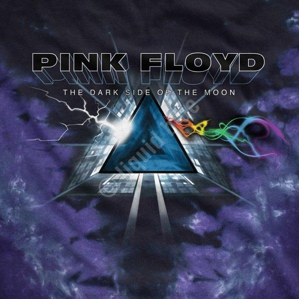 Pink Floyd Dark Side Vortex - Liquid Blue