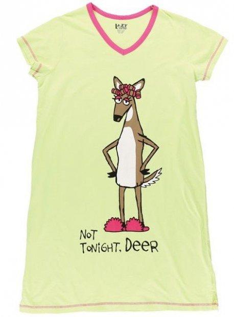 Not Tonight Deer Nightshirt -Noční košilka - LazyOne