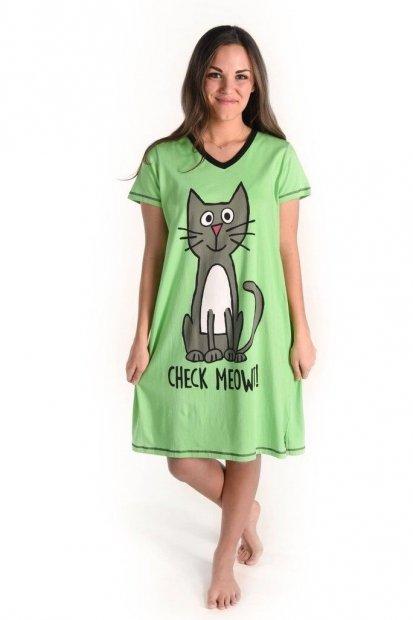 Check Meowt Nightshirt - Noční košilka - LazyOne