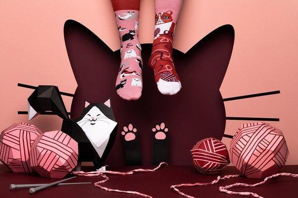 Playful Cat - Ponožky - Many Mornings