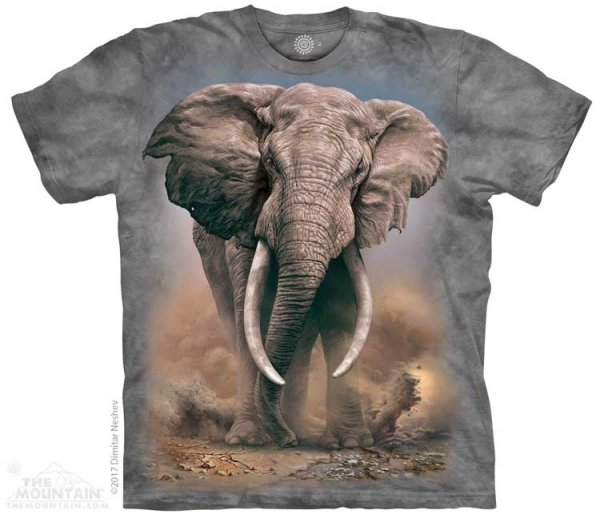African Elephant  - The Mountain