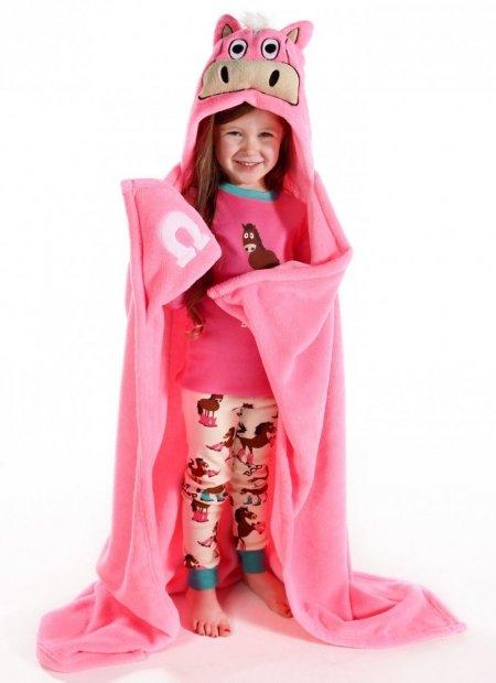 Pink Horse - Přikrývky Zvířatka - LazyOne