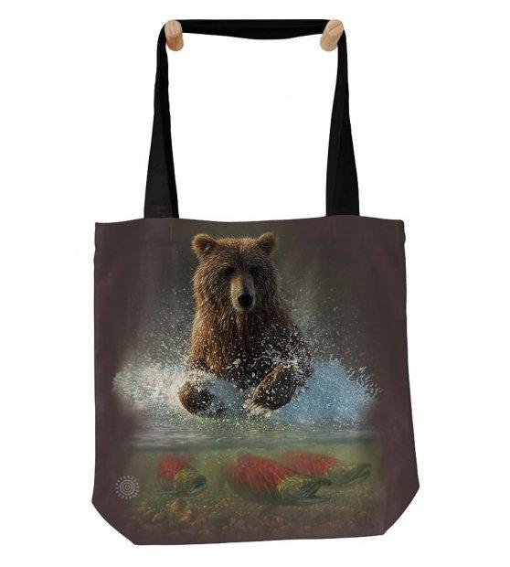 Lucky Fishing Hole Brown Bear - Taška - The Mountain