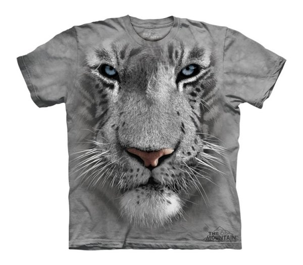 White Tiger Face - Junior - The Mountain