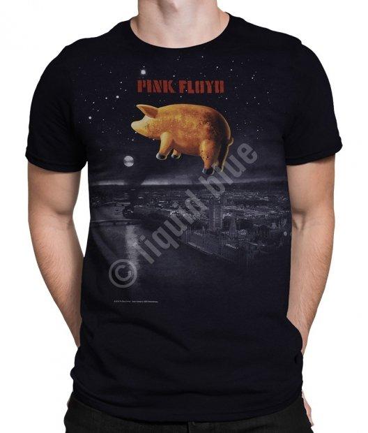Piink Floyd Pigs Over London - Liquid Blue