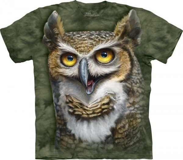 Wise Owl - T-shirt The Mountain