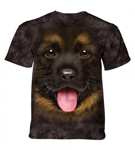 Big Face German Shepherd Puppy  - Junior