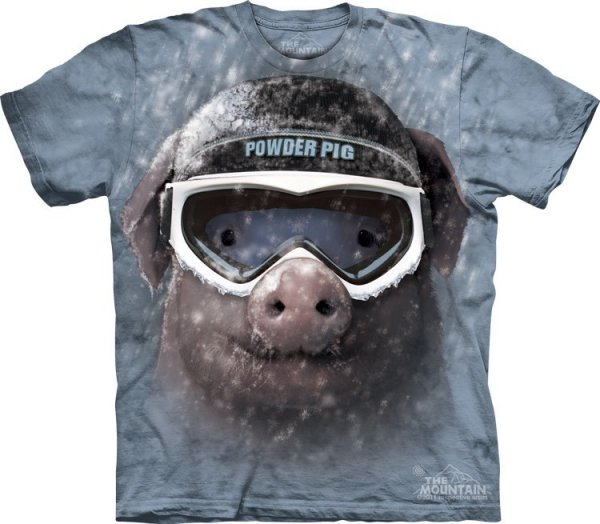 Powder Pig - T-shirt The Mountain