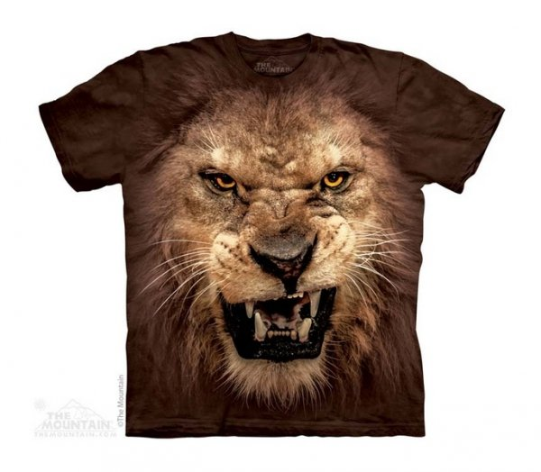 Big Face Roaring Lion - The Mountain - Junior
