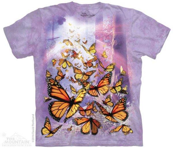 Monarch Butterflies - The Mountain