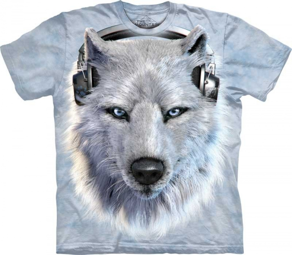 White Wolf DJ  - T-shirt The Mountain