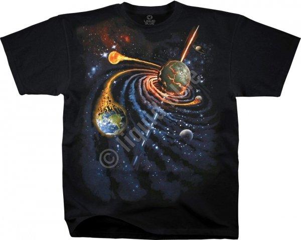 Spiral Space - Liquid Blue