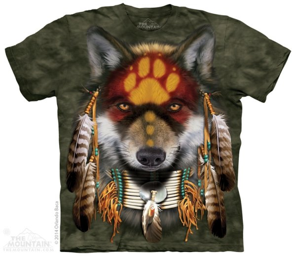 Native Wolf Spirit - The Mountain