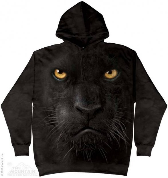 Black Panther Face - Bluza The Mountain