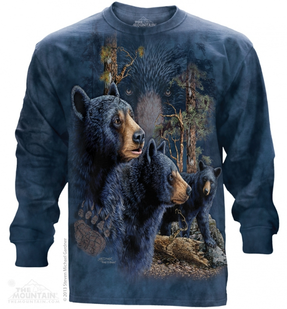 13 Black Bears - Long Sleeve The Mountain