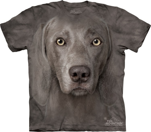 Weimaraner Wyżeł Weimarski - T-shirt The Mountain