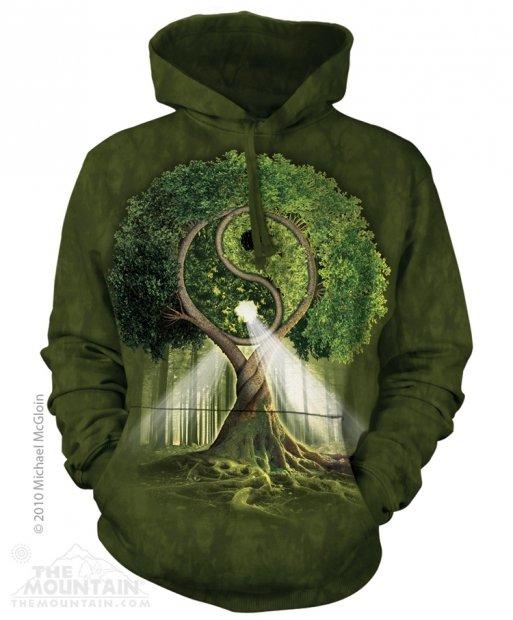 Yin Yang Tree - Bluza The Mountain
