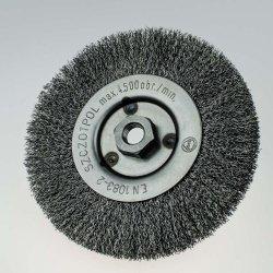 Szczotka tarczowa FI 150 nakrętka M14 stalowa (022-BSI)