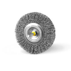 Szczotka tarczowa FI 100 trzpień kwasoodporna (010-AKA)