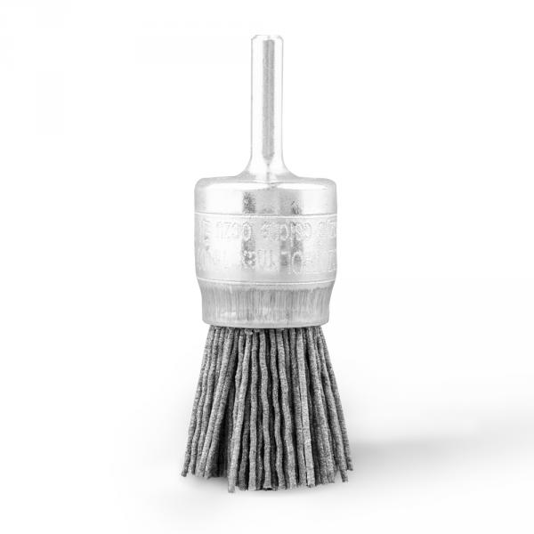Szczotka pędzelkowa Ø 25 trzpień Ø 6 abralon Ø 1,10 (120 SiC) (007-DZ110I)