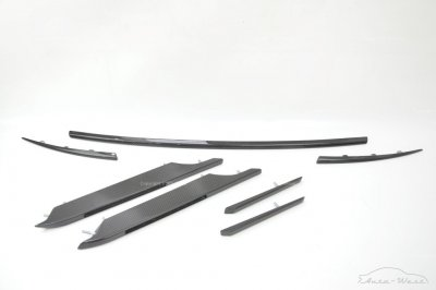 Aston Martin Rapide Wing side strakes rear tailgate door carbon trims set