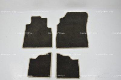 Bentley Continental GT 03-10 RHD Front and rear floor mat carpet set