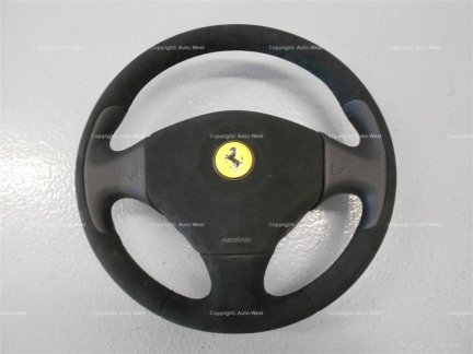 Ferrari 355 F129B 550 575 456 M GTA F116 Alcantara steering wheel airbag
