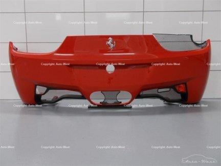 Ferrari 458 Italia F142 Challenge Rear carbon bumper Rosso Scuderia colour