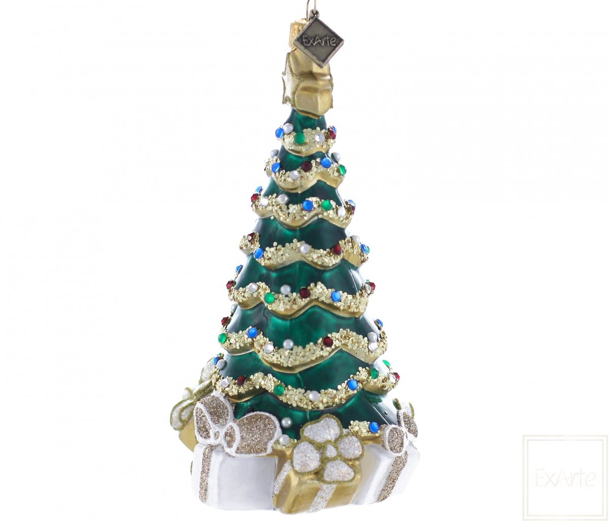 Christmas Tree With Presents 14cm