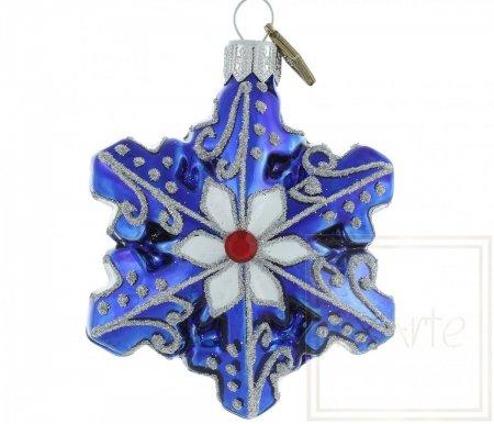 Schneeflocke 7 cm – Winterhimmel
