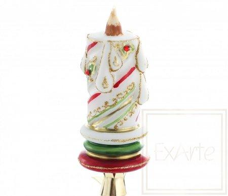Świeczka 11cm - Świąteczny blask