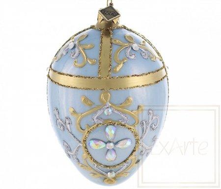 Jajko 13cm - Królewski błękit