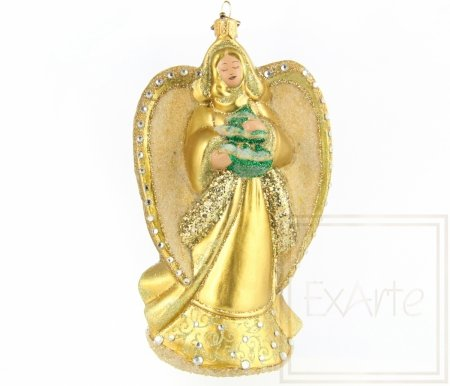 Anioł złocisty - 15,5cm