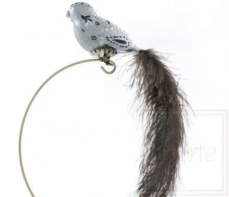 Ptak srebrzysty - 11cm