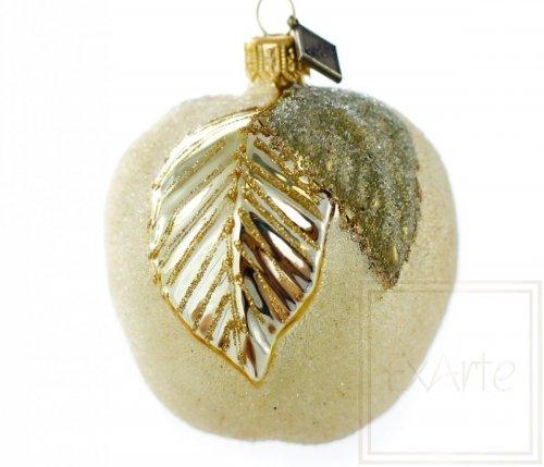 Goldener Apfel - 8 cm
