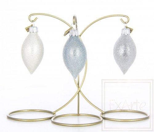 Set aus drei Eiszapfen 5cm - Pastelltropfen
