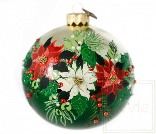 Kugel 10 cm - Weihnachtsstrauß