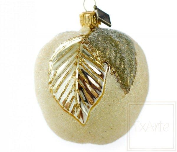 złote jabłko bombka na choinkę